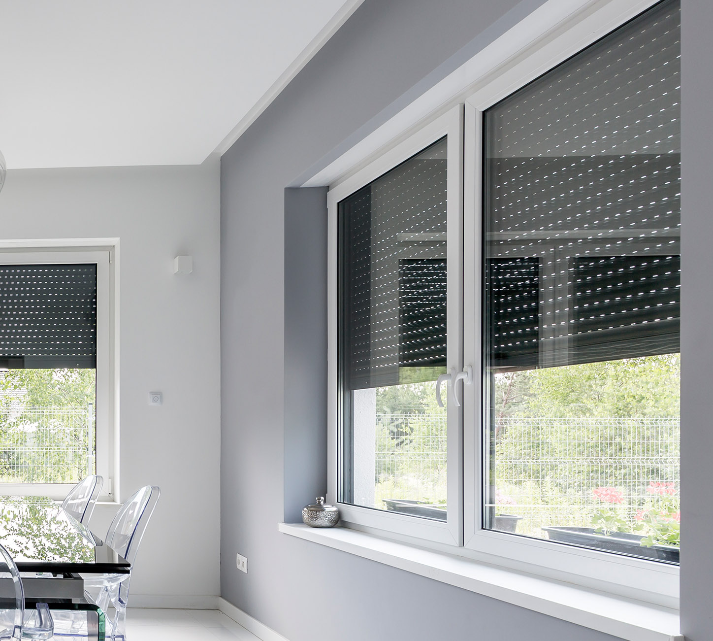 Smart Shades And Smart Windows Qubinos Smart Devices For