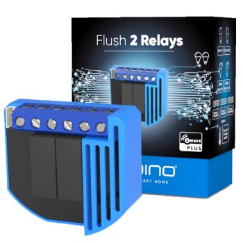 Qubino Flush 2 Relays | Control your lights wirelessly
