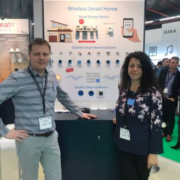 Qubino team at ISE 2019