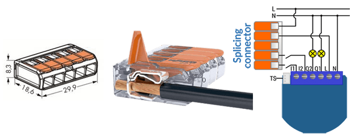 Qubino Splicing connector