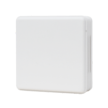 Wall mounted temperature casing