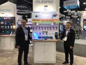 Qubino booth at CEDIA 2019