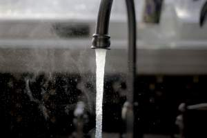 Smart water heater tap