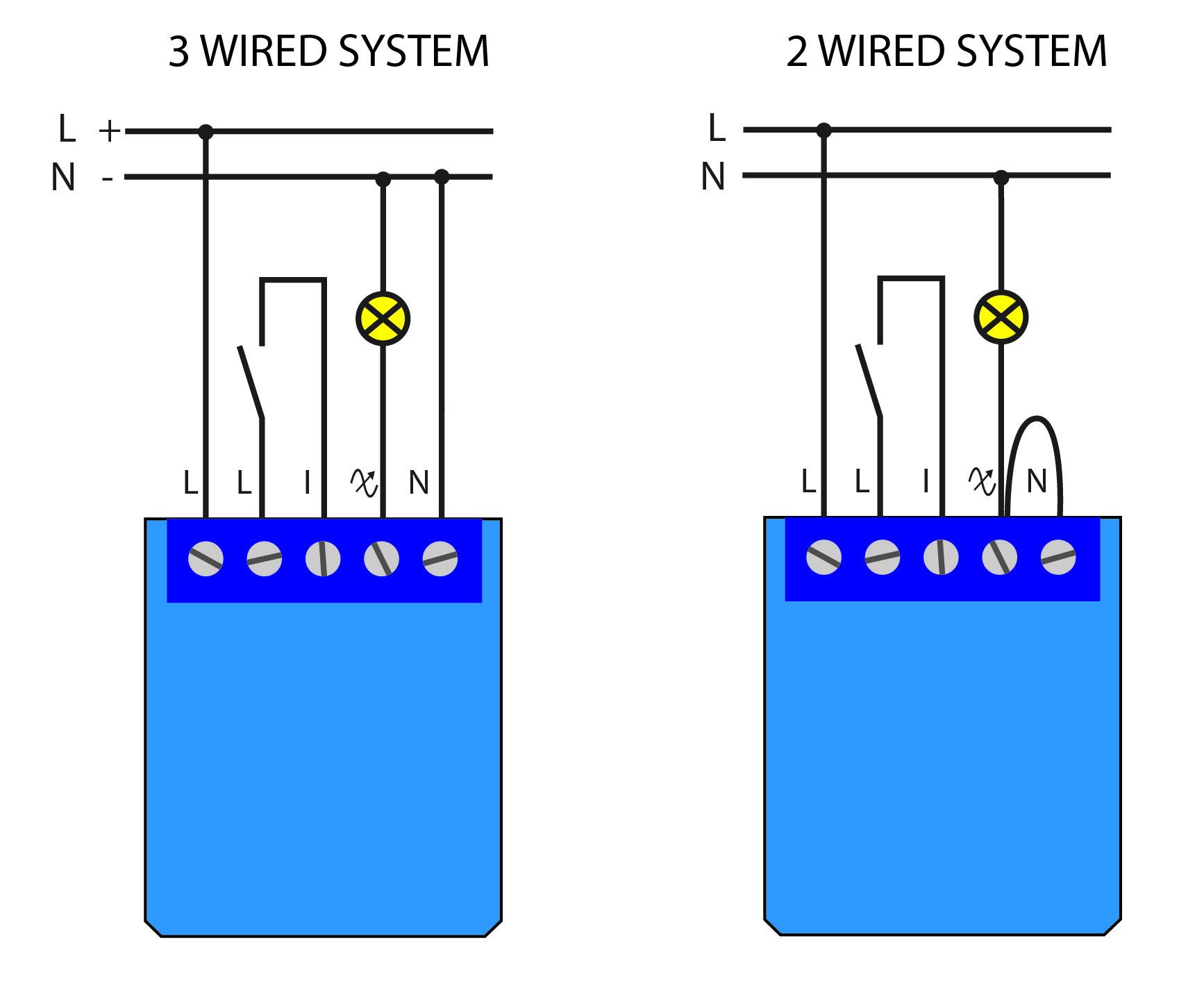 Electrical Diagram Mini Dimmer (110V-240V)