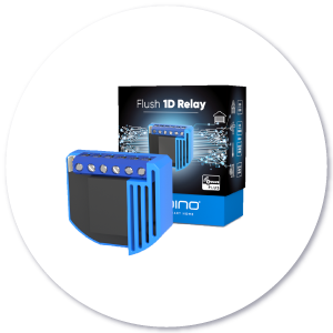 Qubino Flush 1D Relay with packaging