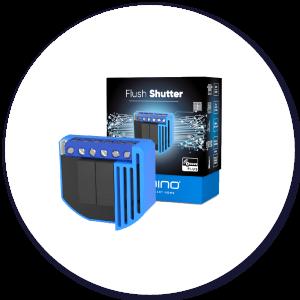Qubino Flush Shutter product with packaging
